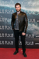 "Alvaro Cervantes attend the Premiere of the movie ""EXODUS: GODS AND KINGS"" at callao Cinema in Madrid, Spain. December 4, 2014. (ALTERPHOTOS/Carlos Dafonte)"