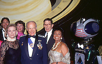 Leonard Nimoy,Bibi Besch,Buzz Aldrin,<br /> Nichelle Nichols, 1992 Sci-Fi Channel <br /> Launch by Jonathan Green