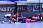 Isabella Schmidt (Nr.31,Mannheimer HC) erzielt ein Tor beim Spiel der Hockey Bundesliga Damen, Mannheimer HC - Rüsselsheimer RK.<br /> <br /> Foto © PIX-Sportfotos *** Foto ist honorarpflichtig! *** Auf Anfrage in hoeherer Qualitaet/Aufloesung. Belegexemplar erbeten. Veroeffentlichung ausschliesslich fuer journalistisch-publizistische Zwecke. For editorial use only.