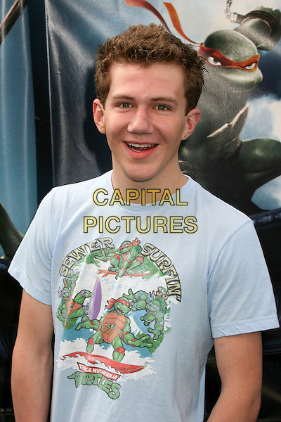 "COLE EVAN WEISS.""TMNT"" (aka. ""Teenage Mutant Ninja Turtles"") Los Angeles Premiere at Grauman's Chinese Theatre, Hollywood, California, USA, 17 March 2007..half length.CAP/ADM/BP.©Byron Purvis/AdMedia/Capital Pictures."