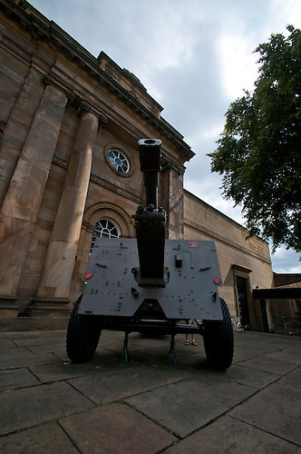 Field gun in York
