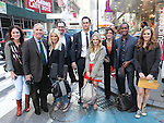 "The cast and creative team of ""The Performers"", from left, producer Amanda Lipitz, actor Henry Winkler, actress Ari Graynor, producer Scott M. Delman, actor Cheyenne Jackson, actress Jenni Barber, producer Robyn Goodman, actor Daniel Breaker and actress Alicia Silverstone attends press event to introduce the cast and creators of the new Broadway play ""The Performers""at the Hard Rock Cafe on Tuesday, Sept. 25, 2012 in New York."