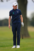 John Murphy of Team Ireland on the 4th during Round 3 of the WATC 2018 - Eisenhower Trophy at Carton House, Maynooth, Co. Kildare on Friday 7th September 2018.<br /> Picture:  Thos Caffrey / www.golffile.ie<br /> <br /> All photo usage must carry mandatory copyright credit (&copy; Golffile | Thos Caffrey)