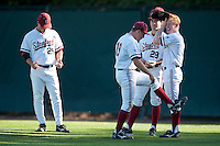 STANFORD, CA-MAY 6, 2011- Stanford defeats the University of Washington Huskies at Sunken Diamond in the first of a three game homestand.