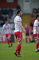 Chris Whelpdale of Stevenage during Stevenage vs Cambridge United, Sky Bet EFL League 2 Football at the Lamex Stadium on 14th April 2018