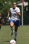 05 September 2009: Duke's KayAnne Gummersall. The Duke University Blue Devils played the University of Nevada Los Vegas Runnin' Rebels to a 0-0 tie after overtime at Koskinen Stadium in Durham, North Carolina in an NCAA Division I Women's college soccer game.