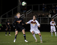The Winthrop University Eagles lose 2-1 in a Big South contest against the Campbell University Camels.  Mason Lavallet (9), Cameron Mulvey (2)
