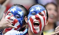 FUSSBALL WM 2014  VORRUNDE    GRUPPE G USA - Deutschland                  26.06.2014 Fans der amerikanischen Nationalmannschaft