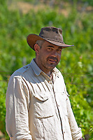 George Salpiggidis, viticultural director. Mount Athos. Tsantali Vineyards & Winery, Halkidiki, Macedonia, Greece. Metoxi Chromitsa of St Panteleimon monastery.