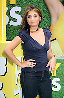 June 05, 2012: Callie Thorne promotes the 2nd season of USA network's Necessary Roughness at the USA End Zone Dance contest at Times Square in New York City. ©RW/MediaPunch Inc. ***NO GERMANY***NO AUSTRIA***