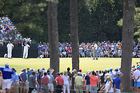 John Rahm (ESP) during the 1st round at the The Masters , Augusta National, Augusta, Georgia, USA. 11/04/2019.<br /> Picture Fran Caffrey / Golffile.ie<br /> <br /> All photo usage must carry mandatory copyright credit (&copy; Golffile | Fran Caffrey)
