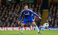 Eden Hazard of Chelsea in action during the UEFA Champions League group G match between Chelsea and FC Porto at Stamford Bridge, London, England on 9 December 2015. Photo by Andy Rowland.