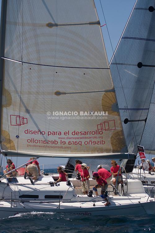 MINI PLIS PLAY .ELVIRA LLABRES .ISABEL GRACIA .E.M.DE VELA - XXVII Copa del Rey de vela - Rela Club Náutico de Palma - 26 July to 2 Agost 2008 - Palma de Mallorca - Baleares - España