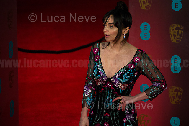 Hayley Squires. <br /> <br /> London, 12/02/2017. Red Carpet of the 2017 EE BAFTA (British Academy of Film and Television Arts) Awards Ceremony, held at the Royal Albert Hall in London.<br /> <br /> For more information please click here: http://www.bafta.org/