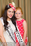 Leitrim Rose Zara Healy with her rosebud Sadhbh Cadogan at the Fels Point hotel on Friday.