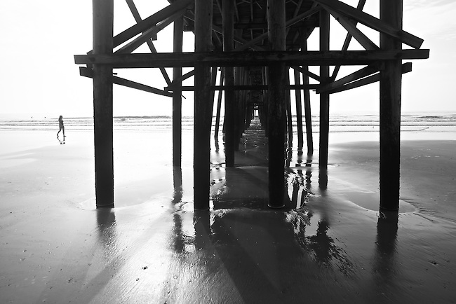 Under the pier at Fernandina Beach, Fla. July 22, 2010.