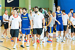 End of the second season of training of Spanish National Team of Basketball 2019 . July 27, 2019. (ALTERPHOTOS/Francis González)
