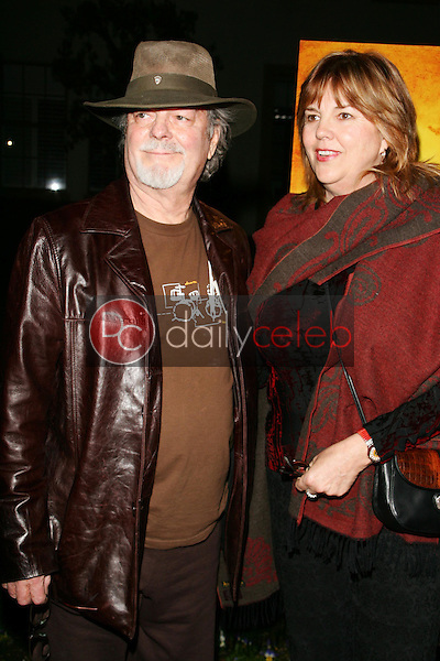 """Russ Tamblyn and wife Bonnie<br />at the premiere of """"Neil Young: Heart of Gold"""". Paramount Theater, Los Angeles, CA 02-07-06<br />Dave Edwards/DailyCeleb.com 818-249-4998"""