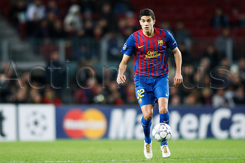 Marc Bartra (Barcelona), DECEMBER 6, 2011 - Football / Soccer : UEFA Champions League Group H match between FC Barcelona 4-0 Bate Borisov at Camp Nou stadium in Barcelona, Spain.