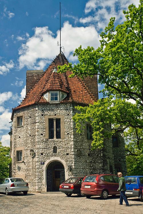 Willa Baszta zwana także Odyniec lub Zameczek w Przegorzałach, Polska<br /> Baszta Villa in Cracow, Poland