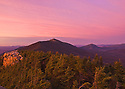 Fire in the sky over Mt. Lincoln, on the Franconia RidgeTrail in New Hampshire's White Mountains.
