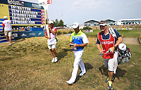 Jaco Van Zyl (RSA) leaves the 15th leading the field during Round Three of the 2015 Alstom Open de France, played at Le Golf National, Saint-Quentin-En-Yvelines, Paris, France. /04/07/2015/. Picture: Golffile | David Lloyd<br /> <br /> All photos usage must carry mandatory copyright credit (© Golffile | David Lloyd)