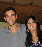 Days Of Our Lives National Tour - Blake Berris and Camila Banus on September 15, 2012 at The Shops at Mohegan Sun, Uncasville, Connecticut. (Photo by Sue Coflin/Max Photos)