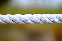 white braided rope