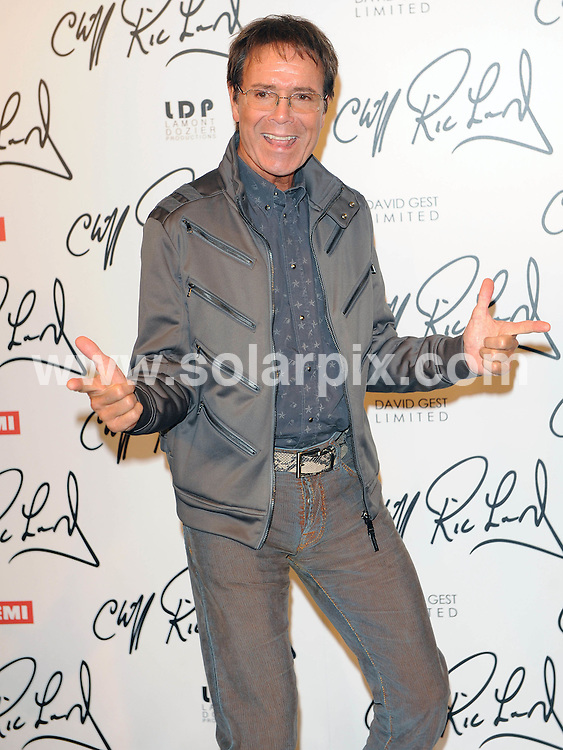 **ALL ROUND PICTURES FROM SOLARPIX.COM**                                             **WORLDWIDE SYNDICATION RIGHTS**                                                                                  Caption: Press Conference at Gilgamesh Restaurant in Camden Town  in London UK                                                                          This pic: Sir Cliff Richard                                                                                      JOB REF:12930        SSD      DATE:07.03.2011                                                            **MUST CREDIT SOLARPIX.COM OR DOUBLE FEE WILL BE CHARGED**                                                                      **MUST AGREE FEE BEFORE ONLINE USAGE**                               **CALL US ON: +34 952 811 768 or LOW RATE FROM UK 0844 617 7637**