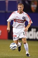 The Chicago Fire's Logan Pause. The Chicago Fire played the NY/NJ MetroStars to a one all tie at Giant's Stadium, East Rutherford, NJ, on May 15, 2004.