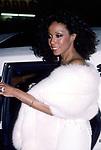 Diahann Carrolll attends 38th Annual Primetime Emmy Awards on September 21, 1986 at the Pasadena Civic Auditorium in Pasadena, California.
