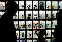 A display of Gundam Robots at Tokyo's National Museum of Nature and Science, Robot Exhibition..