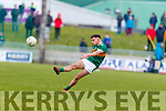 Micheál Burns Kerry in action against  Galway in the Allianz Football League Division 1 Round 4 match between Kerry and Galway at Austin Stack Park, Tralee, Co. Kerry.