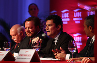 CURITBA, PR, 09.03.2016 - LIDE-MORO - O Juiz Sérgio Moro participa de reunião do Grupo de Líderes Empresariais (LIDE), realizada no Castelo do Batel, em Curitiba (PR), na noite desta quarta-feira (9). (Foto: Paulo Lisboa/Brazil Photo Press)