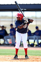 GCL Nationals Carlos Alvarez #19 during a game against the GCL Mets at the Washington Nationals Minor League Complex on June 20, 2011 in Melbourne, Florida.  The Nationals defeated the Mets 5-3.  (Mike Janes/Four Seam Images)