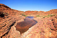 King's Canyon, Northern Territory, Australia, on January 1, 2009. Photo by Lucas Schifres/Pictobank