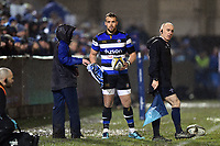 Michael van Vuuren of Bath Rugby looks on. Anglo-Welsh Cup Semi Final, between Bath Rugby and Northampton Saints on March 9, 2018 at the Recreation Ground in Bath, England. Photo by: Patrick Khachfe / Onside Images