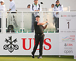 Marcus Fraser of Australia tees off the first hole during the 58th UBS Hong Kong Golf Open as part of the European Tour on 10 December 2016, at the Hong Kong Golf Club, Fanling, Hong Kong, China. Photo by Marcio Rodrigo Machado / Power Sport Images