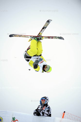 Gurimu Narita (JPN), MARCH 28, 2013 - Freestyle Skiing : Gurimu Narita of Japan competes during the FIS Freestyle Skiing Junior World Championships Men's Halfpipe in Valmalenco, Italy. (Photo by Hiroyuki Sato/AFLO)