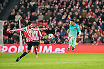 Eneko Boveda Altube (l) of Athletic Club fights for the ball with Neymar da Silva Santos Junior of FC Barcelona during their Copa del Rey Round of 16 first leg match between Athletic Club and FC Barcelona at San Mames Stadium on 05 January 2017 in Bilbao, Spain. Photo by Victor Fraile / Power Sport Images