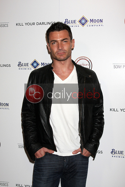 """Aiden Turner<br /> at the """"Kill Your Darlings"""" Premiere, Writers Guild Theater, Beverly Hills, CA 10-03-13<br /> David Edwards/DailyCeleb.Com 818-249-4998"""