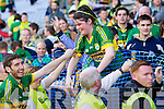 Killian Young Kerry players celebrate after they defeated  Donegal in the All Ireland Senior Football Final in Croke Park Dublin on Sunday 21st September 2014.