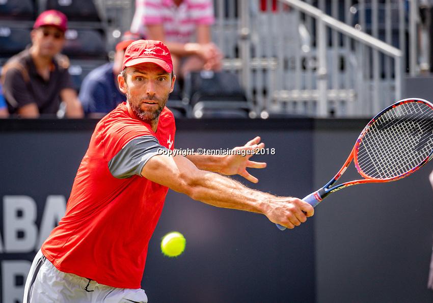 Den Bosch, Netherlands, 11 June, 2018, Tennis, Libema Open, Ivo Karlovic (CRO)<br /> Photo: Henk Koster/tennisimages.com