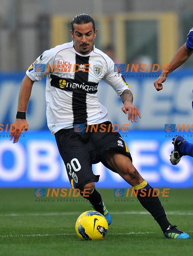 "Manuele BLASI (Parma).Parma 30/10/2011 Stadio ""Ennio Tardini"".Serie A 2011/2012.Football Calcio Parma Vs Cesena.Foto Insidefoto Alessandro Sabattini."