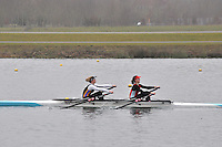 089 WallingfordRC W.J17A.2x..Marlow Regatta Committee Thames Valley Trial Head. 1900m at Dorney Lake/Eton College Rowing Centre, Dorney, Buckinghamshire. Sunday 29 January 2012. Run over three divisions.