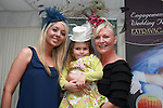 Elizabeth Tumilty (Featherhead Designs) with daughters Katie Horigan and Heather Tumilty at The Bellewstown Races...Photo NEWSFILE/Jenny Matthews.(Photo credit should read Jenny Matthews/NEWSFILE)....This Picture has been sent you under the condtions enclosed by:.Newsfile Ltd..The Studio,.Millmount Abbey,.Drogheda,.Co Meath..Ireland..Tel: +353(0)41-9871240.Fax: +353(0)41-9871260.GSM: +353(0)86-2500958.email: pictures@newsfile.ie.www.newsfile.ie.FTP: 193.120.102.198.