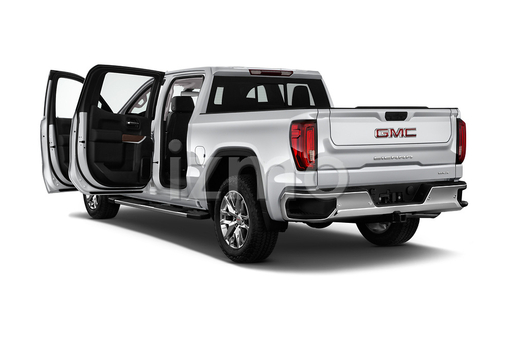 Car images close up view of a 2019 GMC Sierra 1500 SLT 4 Door Pick Up doors
