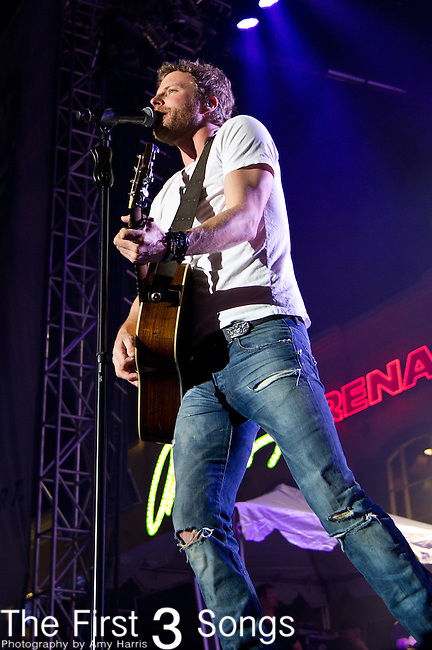 Dierks Bentley performs at the ACM Party for a Cause Festival during The ACM Experience at The Orleans Hotel & Casino on April 6, 2013.