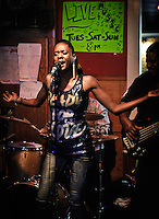Nayo Jones at Bullet's, in New Orleans, LA.