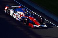 Verizon IndyCar Series<br /> Indianapolis 500 Practice<br /> Indianapolis Motor Speedway, Indianapolis, IN USA<br /> Monday 15 May 2017<br /> Carlos Munoz, A.J. Foyt Enterprises Chevrolet<br /> World Copyright: F. Peirce Williams
